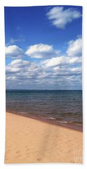 Lake Superior In Summer Beach Towel by Phil Perkins