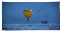 Lake Tahoe Balloon Beach Sheet by Mitch Shindelbower