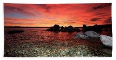Lake Tahoe Liquid Dreams Beach Sheet