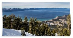 Lake Tahoe Vista Beach Towel