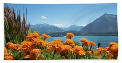 Lake Thunersee Beach Towel