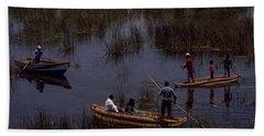 Lake Titicaca Reed Boats Beach Sheet