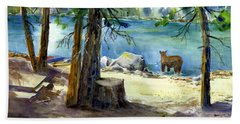 Lake Valley Bear Beach Towel
