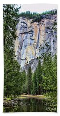 Lake View  Beach Towel by Chuck Kuhn
