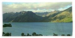 Lake Wakatipu, Queenstown, New Zealand No. 1 Beach Towel