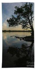 Lake Wilcox Lone Tree 0690 Beach Towel