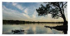Lake Wilcox Lone Tree 0698 Beach Towel