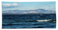 Beach Towel featuring the photograph Lake Winnipesaukee by Donna Lee