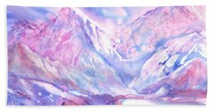 Swiss Mountains - Lake With A View Beach Towel
