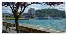Lakefront Cda Beach Towel