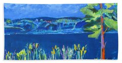 Lakeside Beach Towel by Betty Pieper