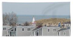Lakeside Lighthouse  Beach Towel