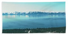 Laketahoe Panorama Beach Towel