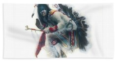 Lakota Dancer Beach Towel