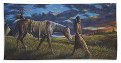 Lakota Sunrise Beach Towel