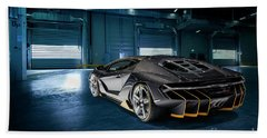 Lamborghini Centenario Lp 770-4 Beach Sheet
