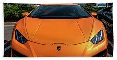 Lamborghini Huracan Beach Sheet