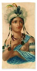 L'amerique 1820 Beach Towel