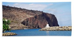 Lanai Harbor Beach Towel