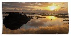 Lanai Sunset #1 Beach Towel