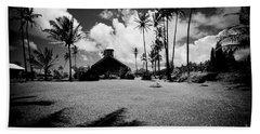 Beach Sheet featuring the photograph Lanakila Ihiihi O Iehowa O Na Kaua Church Keanae Maui Hawaii by Sharon Mau