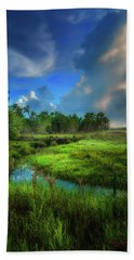Beach Towel featuring the photograph Land Of Milk And Honey by Marvin Spates