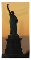 Land Of The Free And The Brave Beach Towel