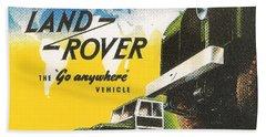 Land Rover Beach Towel
