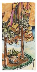 Lands End Cabo  Beach Towel