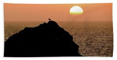 Land's End Beach Towel by Ira Shander