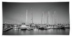Lands End Marina  Beach Towel