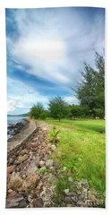 Beach Towel featuring the photograph Landscape 2 by Charuhas Images