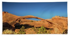 Landscape Arch Sunrise Beach Towel