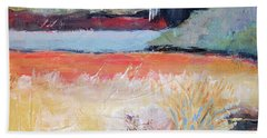 Landscape In Abstraction Beach Towel