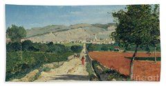 Landscape In Provence Beach Towel