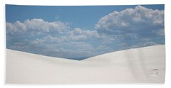 Landscapes Of White Sands 11 Beach Towel