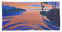 Languid Evening Beach Towel