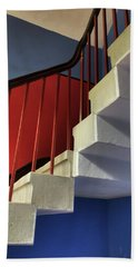 Lanhydrock Stairs Beach Towel