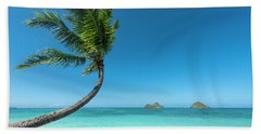 Lanikai Hawaii Beach Towel