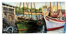 Lannon And Ardelle Gloucester Ma Beach Towel
