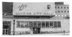 Lansing Michigan City Hall  Beach Sheet