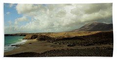 Lanzarote Beach Sheet by Cambion Art