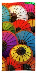 Laos_d639 Beach Towel