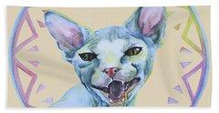 Lara Cat Beach Sheet