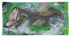 Large Mouth Beach Towel