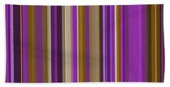 Large Purple Abstract - Three Beach Sheet