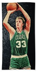 Larry Bird Beach Towel