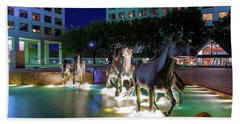 Las Colinas Mustangs 72016 Beach Towel