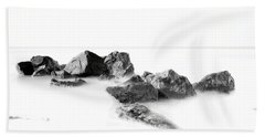 Las Rocas Beach Towel by Edward Kreis