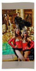 Las Vegas Showgirls Beach Towel